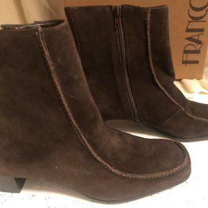 Franco Sarto Moro Sport Brown Suede Boots